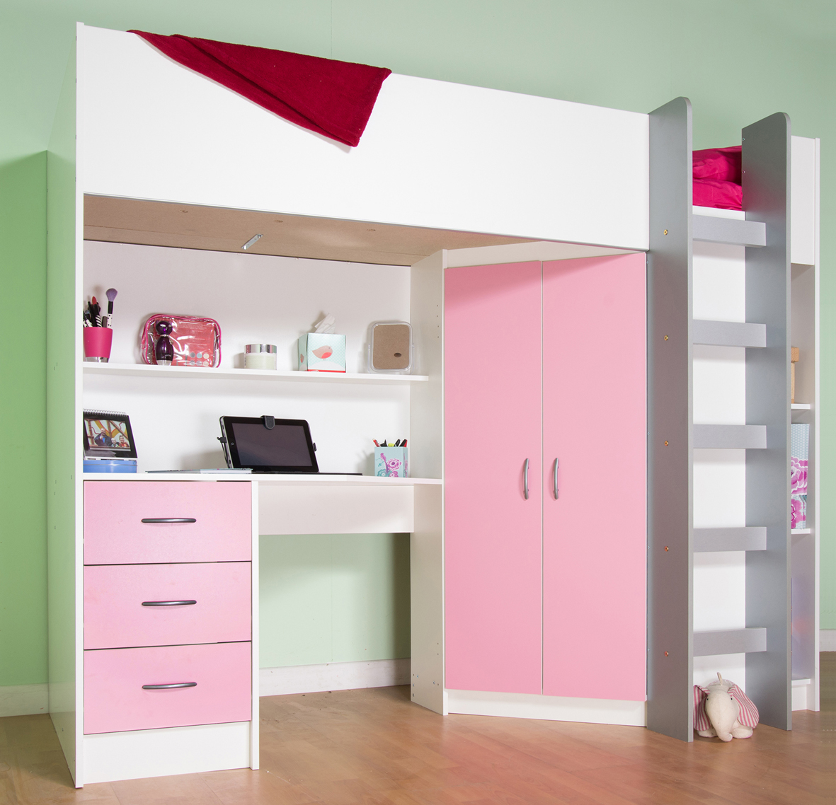 Kids Bedroom Awesome Furniture Kids Bunk Beds In Double  Childrens High Sleeper Cabin Beds