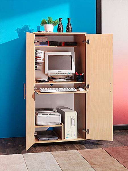 Home office desks for Hideaway home office
